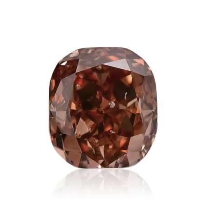 Камень без оправы, бриллиант Цвет: Коричневый, Вес: 0.68 карат