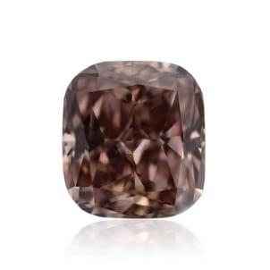 Камень без оправы, бриллиант Цвет: Коричневый, Вес: 0.69 карат