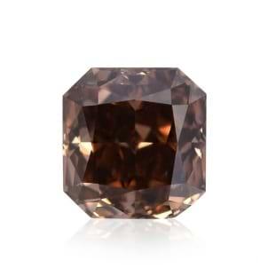 Камень без оправы, бриллиант Цвет: Коричневый, Вес: 0.45 карат