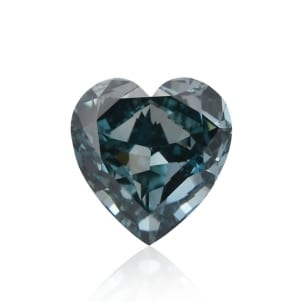 Камень без оправы, бриллиант Цвет: Зеленый, Вес: 0.50 карат