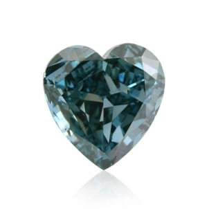 Камень без оправы, бриллиант Цвет: Зеленый, Вес: 0.52 карат