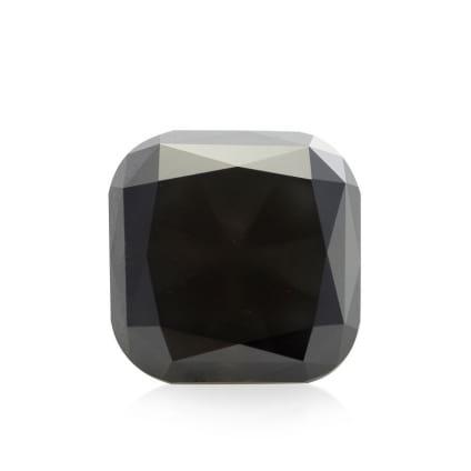 Камень без оправы, бриллиант Цвет: Черный, Вес: 5.46 карат