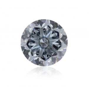 Камень без оправы, бриллиант Цвет: Голубой, Вес: 1.30 карат