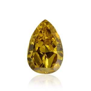 Камень без оправы, бриллиант Цвет: Желтый, Вес: 0.95 карат