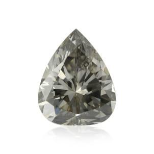 Камень без оправы, бриллиант Цвет: Серый, Вес: 0.66 карат
