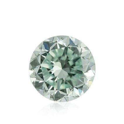 Камень без оправы, бриллиант Цвет: Зеленый, Вес: 0.55 карат