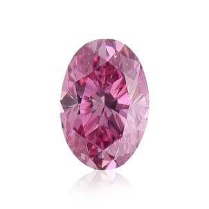Камень без оправы, бриллиант Цвет: Розовый, Вес: 0.43 карат