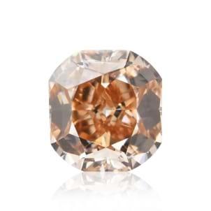 Камень без оправы, бриллиант Цвет: Оранжевый, Вес: 1.02 карат
