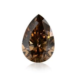 Камень без оправы, бриллиант Цвет: Коричневый, Вес: 1.04 карат