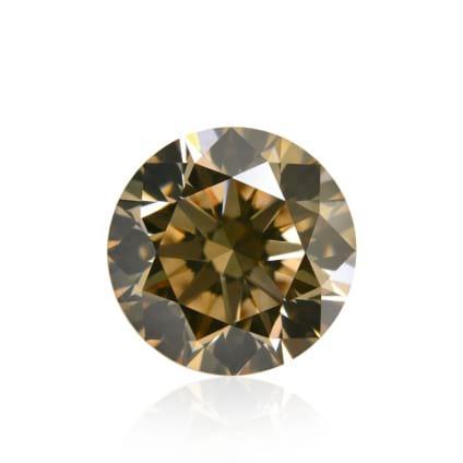Камень без оправы, бриллиант Цвет: Коричневый, Вес: 1.34 карат