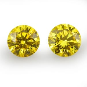 Fancy Vivid Orangy Yellow 1578726