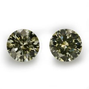 Камень без оправы, бриллиант Цвет: Хамелеон, Вес: 1.02 карат