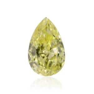 Камень без оправы, бриллиант Цвет: Желтый, Вес: 0.33 карат