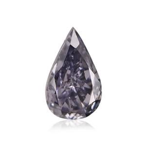 Камень без оправы, бриллиант Цвет: Серый, Вес: 0.33 карат