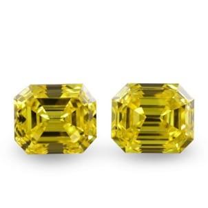 Камень без оправы, бриллиант Цвет: Желтый, Вес: 3.15 карат