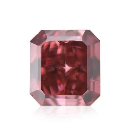 Камень без оправы, бриллиант Цвет: Красный, Вес: 0.37 карат