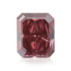 Камень без оправы, бриллиант Цвет: Красный, Вес: 0.26 карат