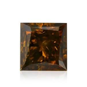Камень без оправы, бриллиант Цвет: Коричневый, Вес: 1.01 карат