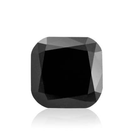 Камень без оправы, бриллиант Цвет: Черный, Вес: 3.91 карат