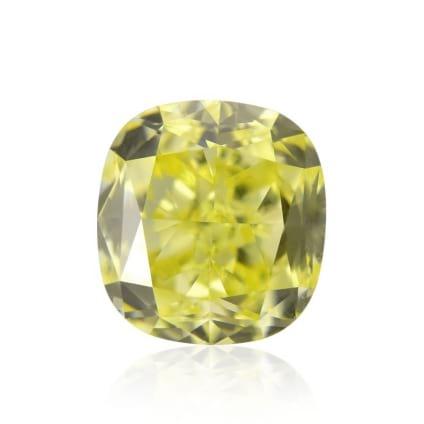Камень без оправы, бриллиант Цвет: Желтый, Вес: 0.71 карат
