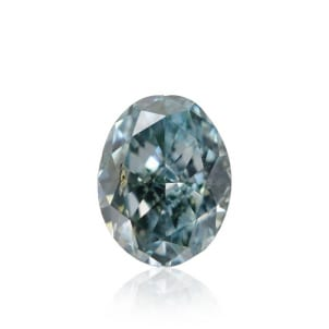 Камень без оправы, бриллиант Цвет: Зеленый, Вес: 0.13 карат