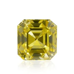 Камень без оправы, бриллиант Цвет: Желтый, Вес: 1.30 карат