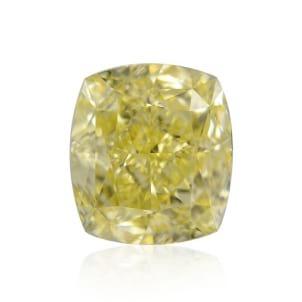 Камень без оправы, бриллиант Цвет: Желтый, Вес: 2.02 карат