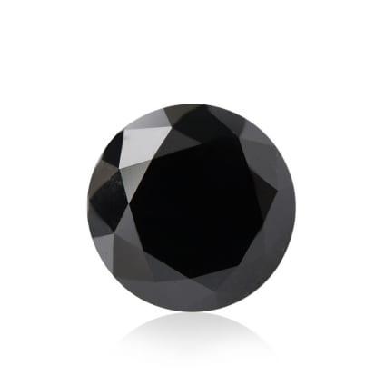 Камень без оправы, бриллиант Цвет: Черный, Вес: 2.13 карат