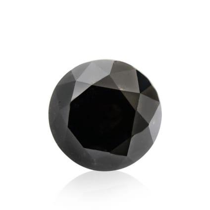 Камень без оправы, бриллиант Цвет: Черный, Вес: 2.56 карат