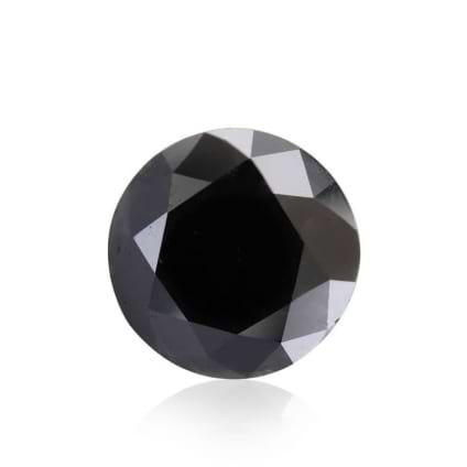 Камень без оправы, бриллиант Цвет: Черный, Вес: 6.02 карат