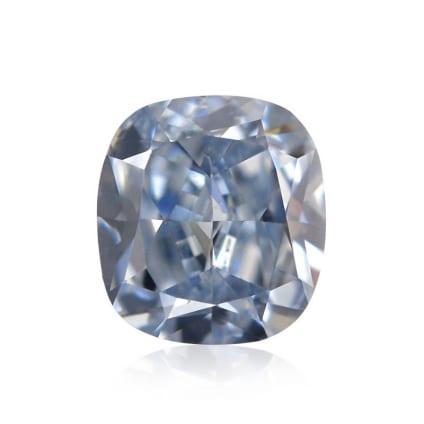 Камень без оправы, бриллиант Цвет: Голубой, Вес: 0.23 карат