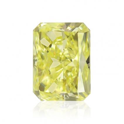 Камень без оправы, бриллиант Цвет: Желтый, Вес: 1.01 карат