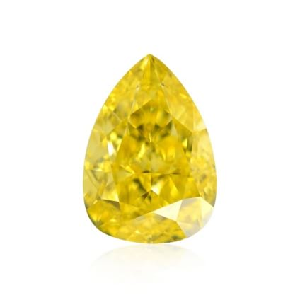 Камень без оправы, бриллиант Цвет: Желтый, Вес: 0.50 карат