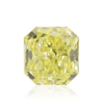 Камень без оправы, бриллиант Цвет: Желтый, Вес: 0.61 карат