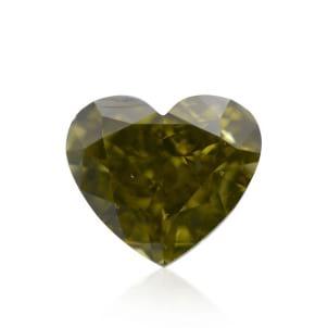 Камень без оправы, бриллиант Цвет: Хамелеон, Вес: 0.66 карат