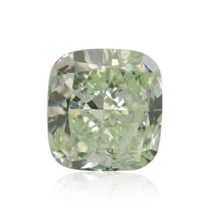 Камень без оправы, бриллиант Цвет: Зеленый, Вес: 1.77 карат