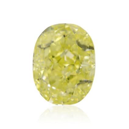 Камень без оправы, бриллиант Цвет: Желтый, Вес: 0.74 карат