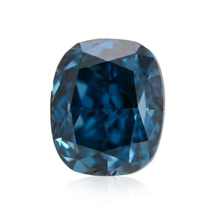 Камень без оправы, бриллиант Цвет: Голубой, Вес: 0.22 карат