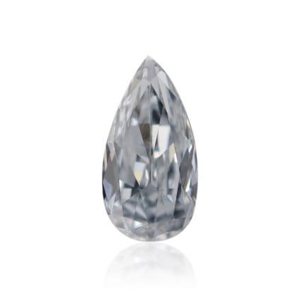Камень без оправы, бриллиант Цвет: Голубой, Вес: 0.18 карат