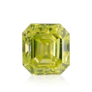 Камень без оправы, бриллиант Цвет: Желтый, Вес: 0.19 карат