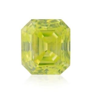 Камень без оправы, бриллиант Цвет: Желтый, Вес: 0.17 карат