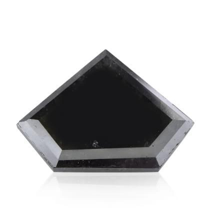 Камень без оправы, бриллиант Цвет: Черный, Вес: 3.57 карат