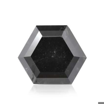 Камень без оправы, бриллиант Цвет: Черный, Вес: 2.22 карат