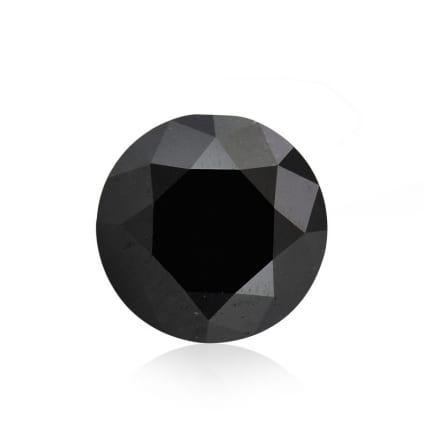 Камень без оправы, бриллиант Цвет: Черный, Вес: 3.19 карат