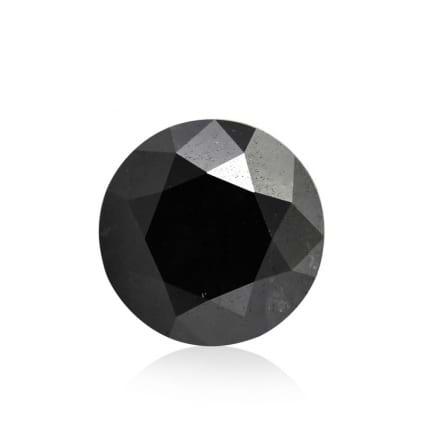 Камень без оправы, бриллиант Цвет: Черный, Вес: 2.30 карат