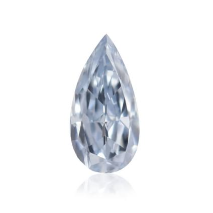 Камень без оправы, бриллиант Цвет: Голубой, Вес: 0.12 карат