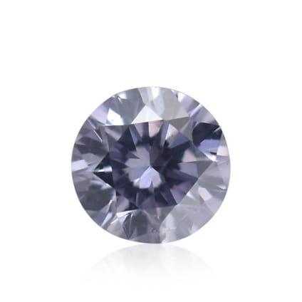 Камень без оправы, бриллиант Цвет: Фиолетовый, Вес: 0.04 карат