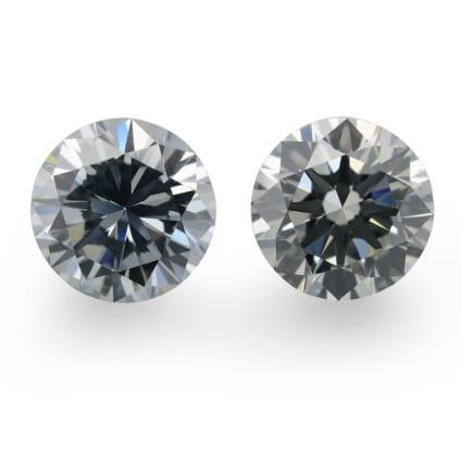 Камень без оправы, бриллиант Цвет: Голубой, Вес: 0.91 карат