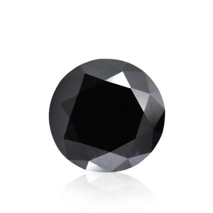 Камень без оправы, бриллиант Цвет: Черный, Вес: 5.32 карат