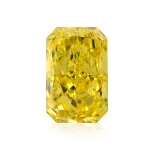 Камень без оправы, бриллиант Цвет: Желтый, Вес: 1.02 карат